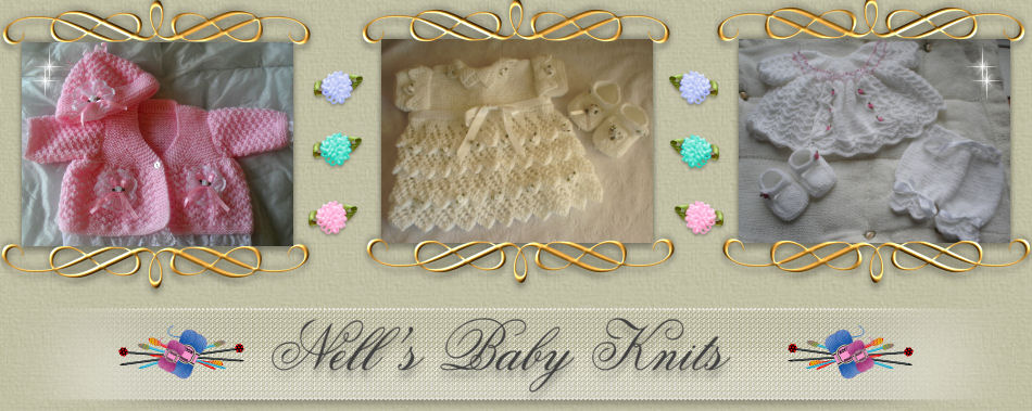 fe3d9dee9934 Nell s Baby Knits