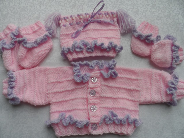 Knitting Pattern For Ruffle Baby Vest : Nells Baby Knits