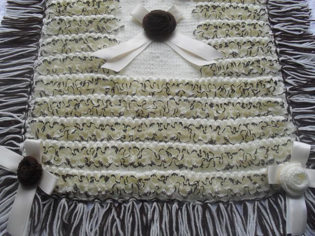 LULLABYE DREAMS PRAM BLANKET KNITTING PATTERN